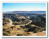 Fish River Canyon hiking trail