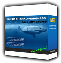 Great White Shark Awareness Specialty Diver Course PADI crew pack